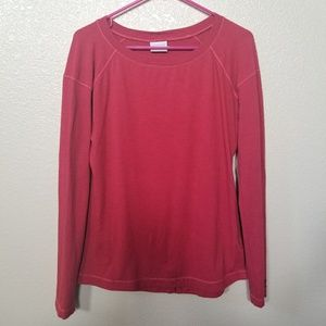 Columbia Long Sleeve Shirt With Slit On Back M